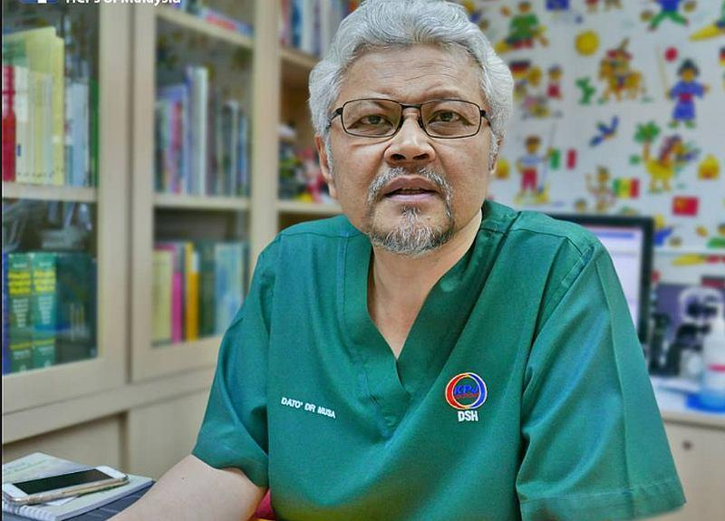 Paediatrician and neonatologist Datuk Dr Musa Mohd Nordin — Picture courtesy of ms-my.facebook.com
