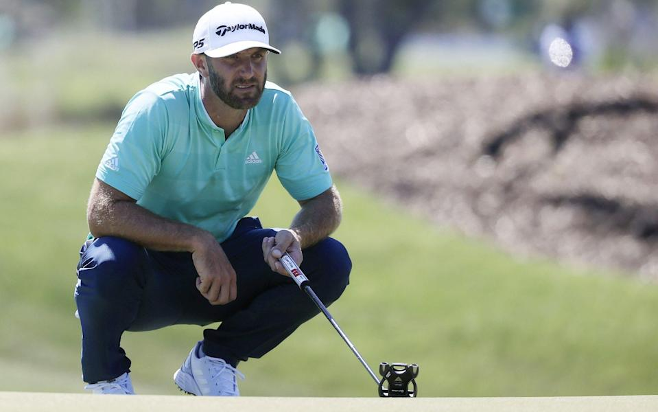 World No 1 Dustin Johnson was just one of a number of big names linked with the breakaway competition - SHUTTERSTOCK