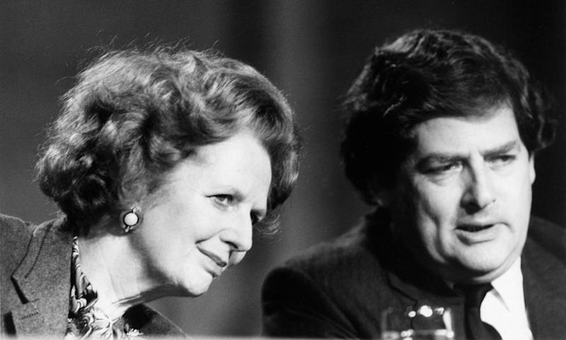 Margaret Thatcher and Nigel Lawson