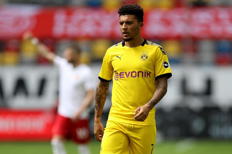 Sancho remains a top target for the club. (Getty Images)
