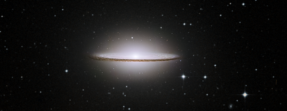 "The Sombrero Galaxy may have a smooth ""brim,"" suggesting that its past was free of any galactic collisions, but new data from the Hubble Space Telescope has shown that this seemingly unscathed galaxy is hiding a violent past. According to NASA, the galaxy's faint outer halo provides some forensic clues that suggest the galaxy underwent multiple collisions with other galaxies billions of years ago."