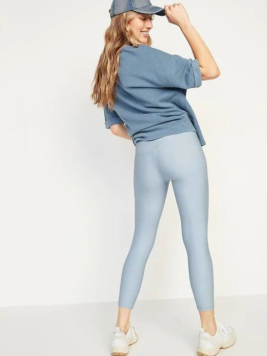 <p>These baby-blue <span>Old Navy Extra High-Waisted PowerSoft Crop Hidden Pocket Leggings</span> ($18-$20, originally $37) really stand out, and four-way stretch means you can easily move about, too.</p>