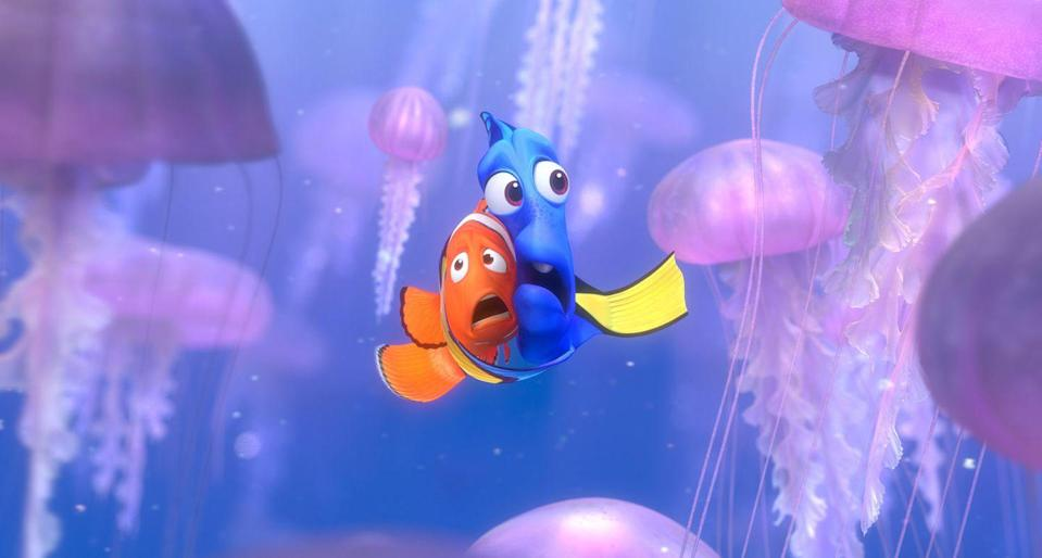 "<p><em>Finding Nemo</em> proves the lengths a father would go (well, swim) for his son. In this case, he also meets some fantastic friends, like the forgetful Dory or chill turtles Crush and Squirt, along the way. It's these characters, rather than the run-of-the-mill plot, that give <em>Nemo</em> its charm. </p><p><a class=""link rapid-noclick-resp"" href=""https://go.redirectingat.com?id=74968X1596630&url=https%3A%2F%2Fwww.disneyplus.com%2Fmovies%2Ffinding-nemo%2F5Gpj2XqF7BV2&sref=https%3A%2F%2Fwww.redbookmag.com%2Flife%2Fg35149732%2Fbest-pixar-movies%2F"" rel=""nofollow noopener"" target=""_blank"" data-ylk=""slk:DISNEY+"">DISNEY+</a> <a class=""link rapid-noclick-resp"" href=""https://www.amazon.com/Finding-Nemo-Albert-Brooks/dp/B00AHSGNJM?tag=syn-yahoo-20&ascsubtag=%5Bartid%7C10063.g.35149732%5Bsrc%7Cyahoo-us"" rel=""nofollow noopener"" target=""_blank"" data-ylk=""slk:AMAZON"">AMAZON</a></p>"