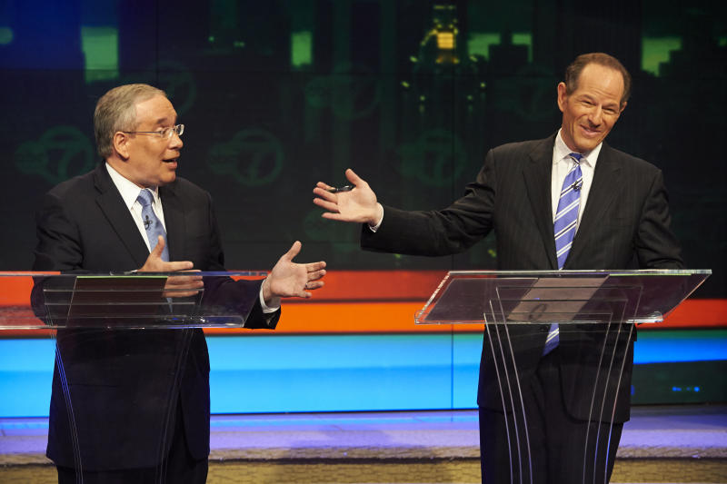Fiery exchanges dominate NYC comptroller debate