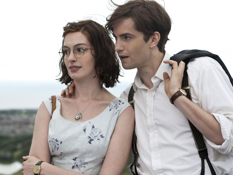 Anne Hathaway and Jim Sturgess in 'One Day'Rex Features