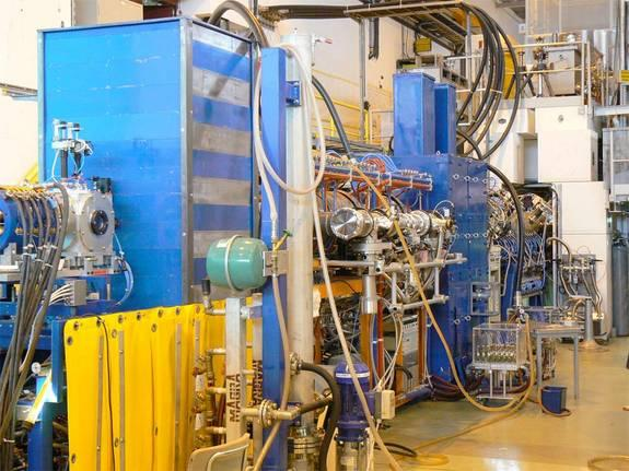 Researchers found pear-shaped nuclei using the REX-ISOLDE postaccelerator, which speeds up radioactive nuclei produced at the ISOLDE facility at CERN to energies approaching 10 percent of the speed of light.