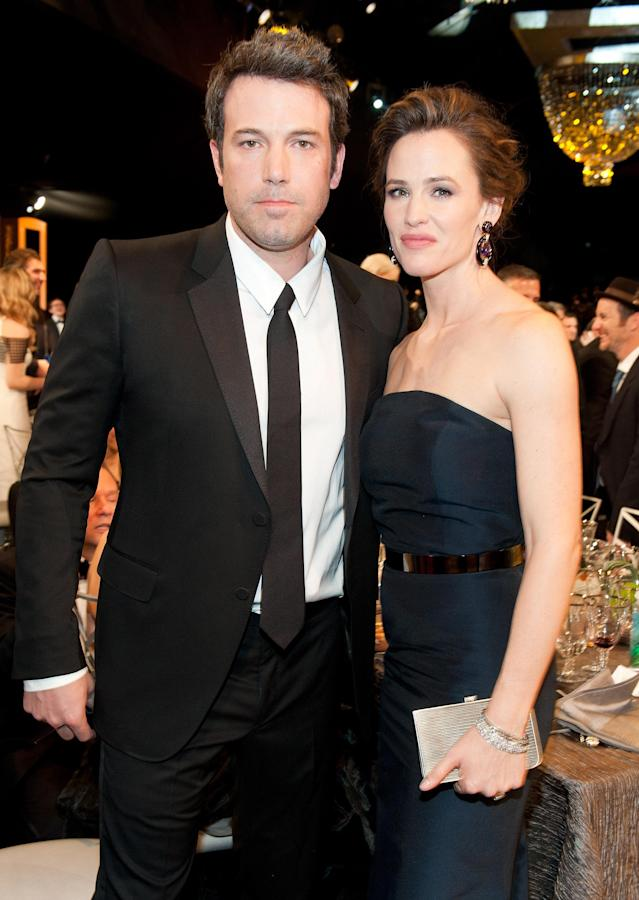 <p>Despite announcing their separation in 2015, the couple is still married. While there were rumors the pair might reconcile, Affleck and Garner coordinated their divorce filings nearly two years later. While it was reported that the settlement would be swift and easy, it has not been revealed yet that their divorce is finalized. Affleck has nevertheless moved on romantically, as he's said to be getting more serious with girlfriend Lindsay Shookus. (Photo: Getty Images) </p>
