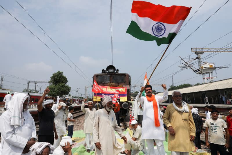 Protest against the farms laws, in Sonipat