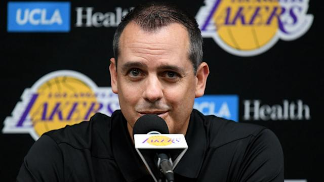 Frank Vogel was pleased with the physicality at Los Angeles Lakers practice over the weekend.