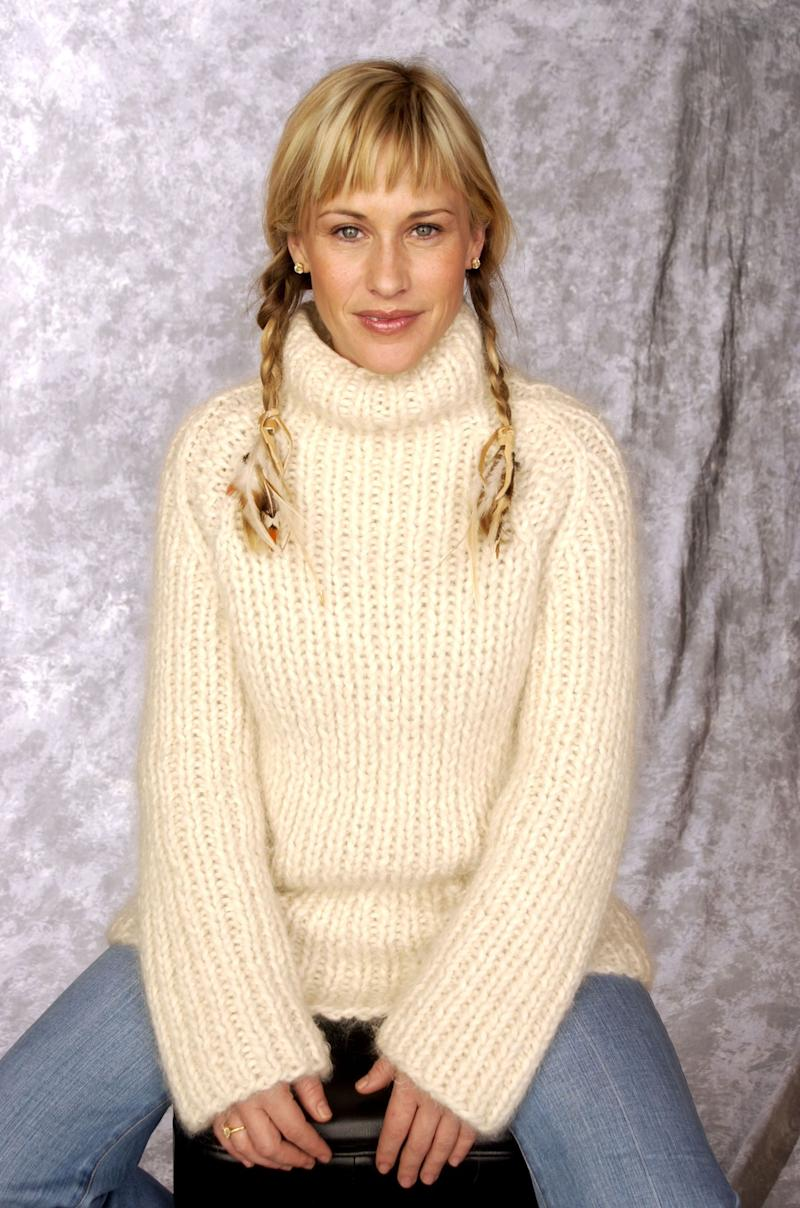 The actresses poses for a portrait at the 2002 Sundance Film Festival.