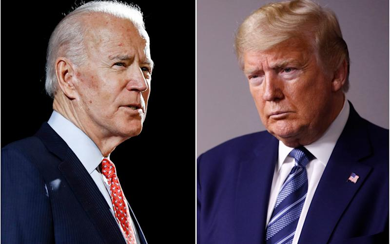 Joe Biden, the presumptive Democratic nominee, and Donald Trump, the US president, are just four months away from the election - AP Photo, File
