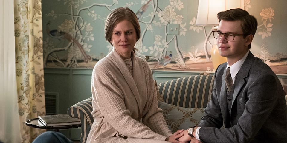 Nicole Kidman and Ansel Elgort in 'The Goldfinch' (Photo: Warner Bros./Courtesy TIFF)