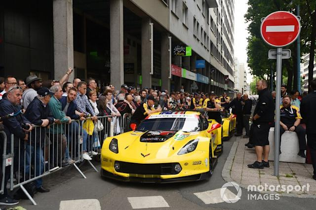 "#63 Corvette Racing Chevrolet Corvette C7.R <span class=""copyright"">Rainier Ehrhardt</span>"