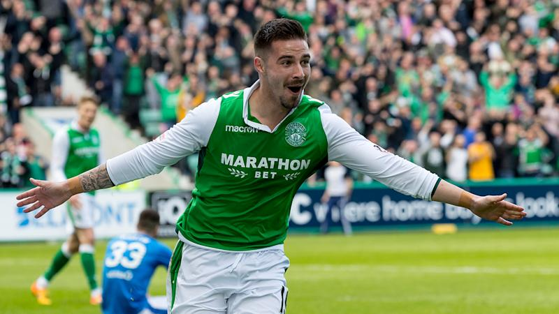 Hibs striker Maclaren axed from Australia squad