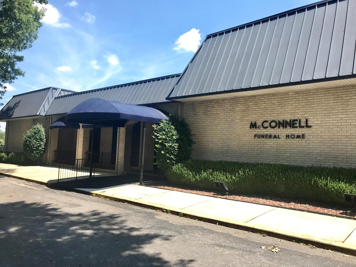 McConnell Funeral Home in Athens, Alabama. Sen. McConnell's grandfather bought the business in 1918.