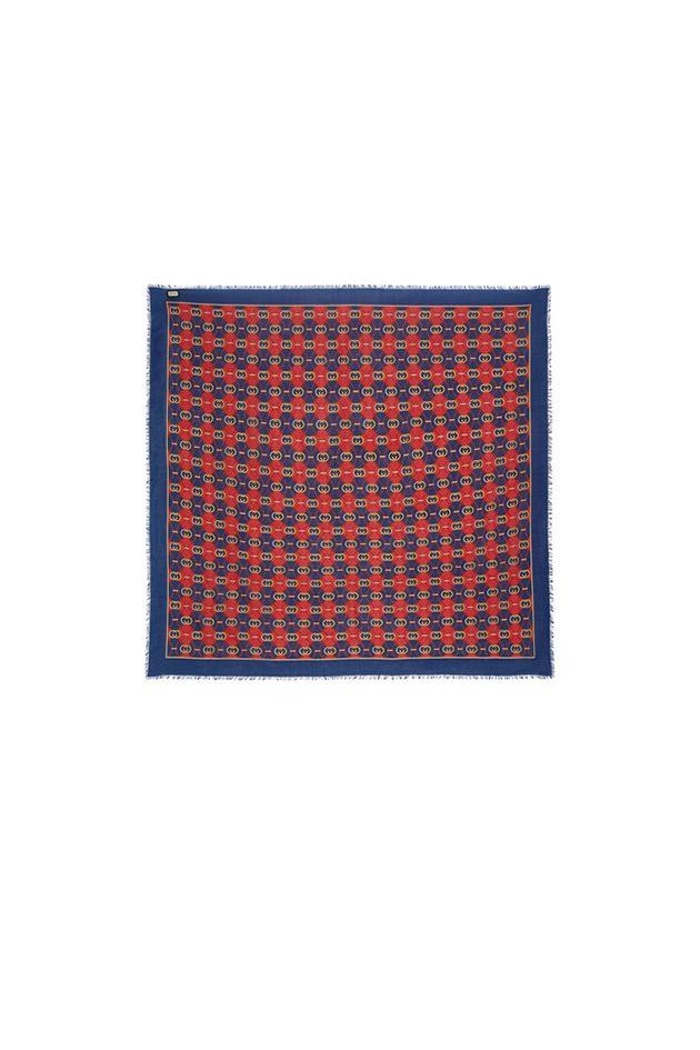 """<p>A colorful silk scarf tied around your neck—or bag—looks chic without feeling too retro.</p><p><em></em><em>Printed wool and silk-blend scarf, $850 </em></p><p><a class=""""body-btn-link"""" href=""""https://go.redirectingat.com?id=74968X1596630&url=https%3A%2F%2Fwww.net-a-porter.com%2Fus%2Fen%2Fproduct%2F1137762%2FGucci%2Fprinted-wool-and-silk-blend-scarf&sref=http%3A%2F%2Fwww.crfashionbook.com%2Ffashion%2Fg28353991%2Fbastille-day-shopping-guide-france%2F"""" target=""""_blank"""">SHOP</a></p>"""