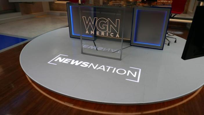 """""""News Nation"""" launches Tuesday on WGN America."""