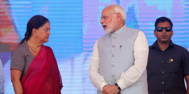 Work relationship between Prime Minister Narendra Modi and Rajasthan Chief Minister Vasundhara Raje has been seen as frosty. However, on this scheme, both the Centre and Rajasthan governments have been publicly enthusiastic in implementation even though farmers' concerns remain unresolved.