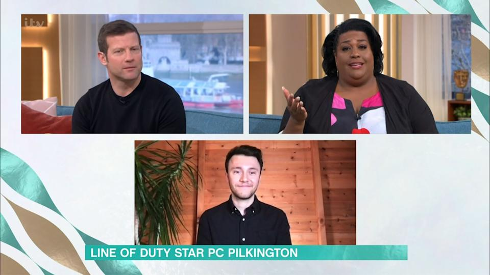 Gregory made an appearance on Thursday's This Morning (Photo: ITV/Shutterstock)