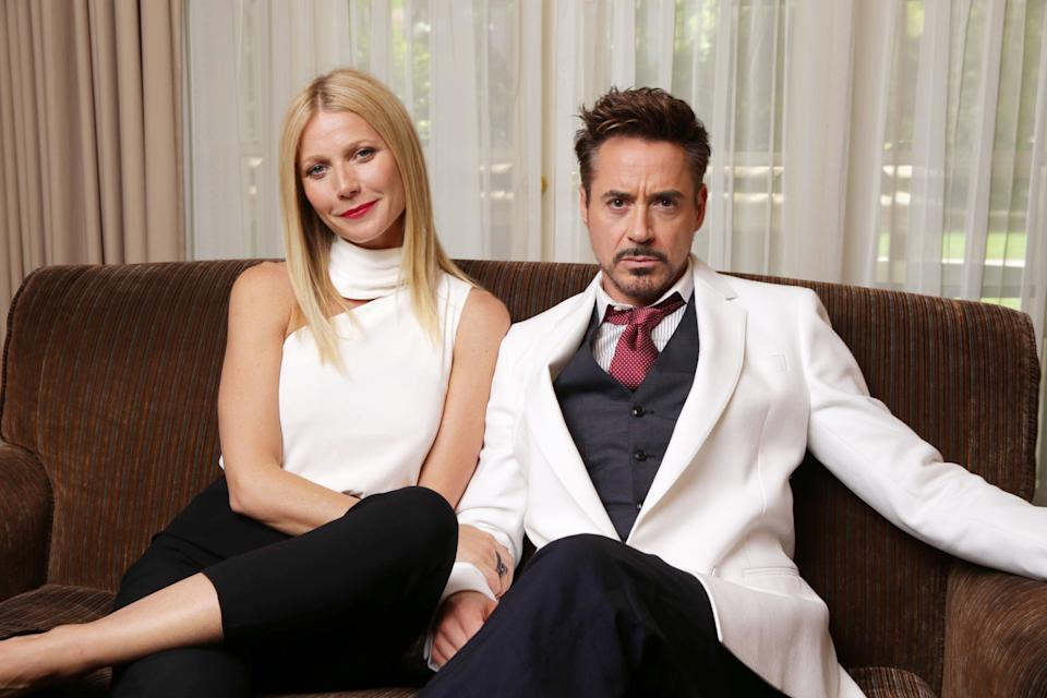 Gwyneth Paltrow and Robert Downey Jr.  (Photo: Eric Charbonneau/Invision/AP)