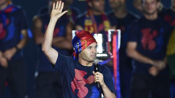 The word legend is used an awful lot in football. However, there is little doubt that Andres Iniesta is a true footballing legend. The Barcelona captain has won every major competition available to him at least once, including: eight La Liga titles, four Champions Leagues, four Copas del Rey, two European Championships and scored the winning goal in the 2010 World Cup. The greatest midfielder of his generation has twice finished in the top three for the Ballon d'Or, won UEFA's Best Player in...