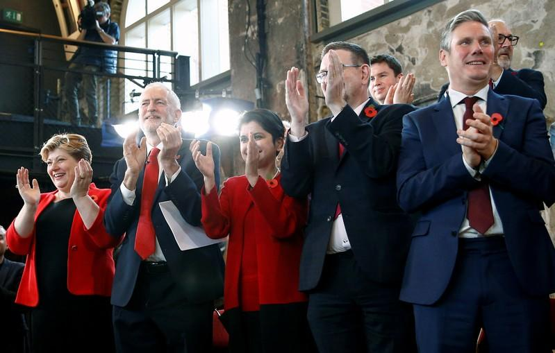 Britain's opposition Labour Party launch event for the general election campaign in London