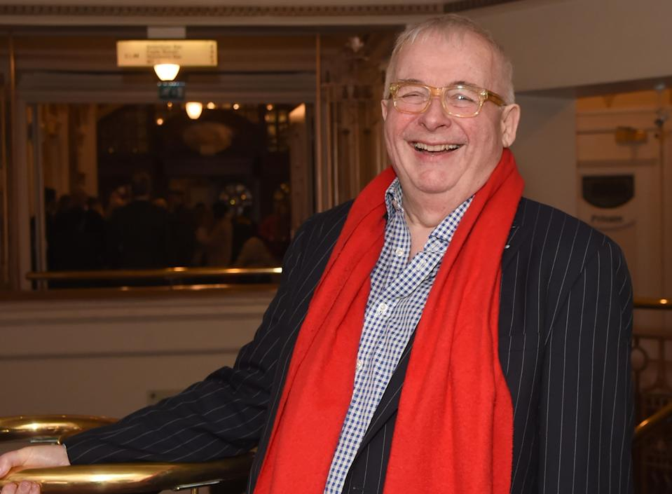 Christopher Biggins is upset that panto is cancelled (Photo by David M. Benett/Dave Benett/Getty Images)