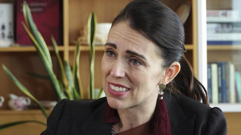 New Zealand Ardern Interview