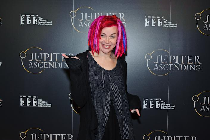Lana Wachowski attends a screening of 'Jupiter Ascending' on February 4, 2015 in Chicago, Illinois. (Photo by Timothy Hiatt/Getty Images)