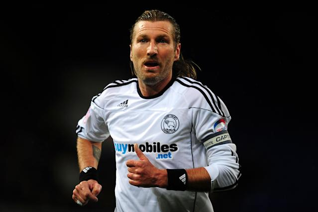 Robbie Savage in his playing days. (PA)