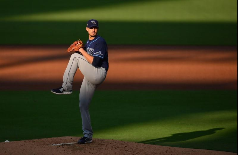 Rays to go with RHP Morton in Game 2