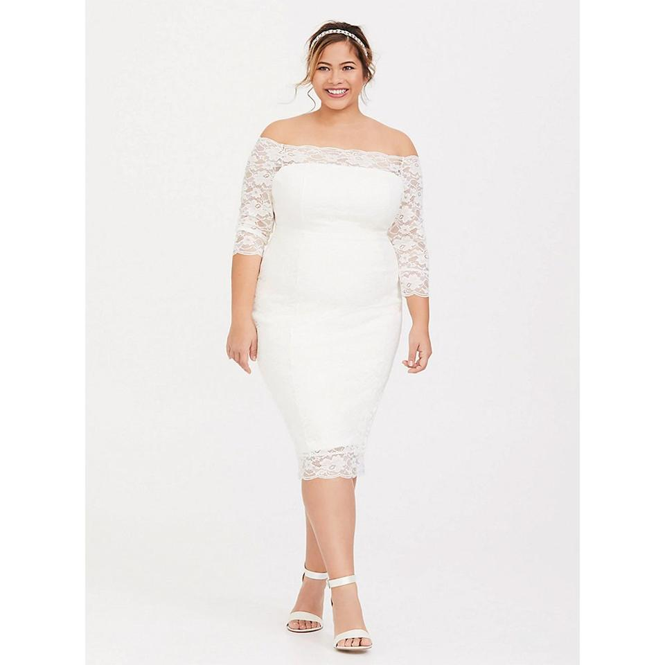 4de24f8f83 Torrid Has Launched a New Wedding Dress Collection—and Everything Is Under   200
