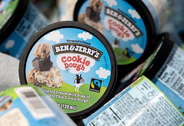 Helados de Ben and Jerry's. (Photo: Kevin Dietsch via Getty Images)