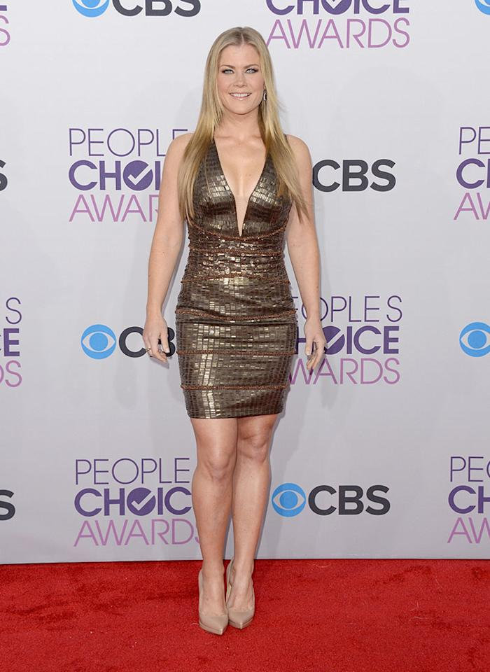 Alison Sweeney attends the 39th Annual People's Choice Awards at Nokia Theatre L.A. Live on January 9, 2013 in Los Angeles, California.
