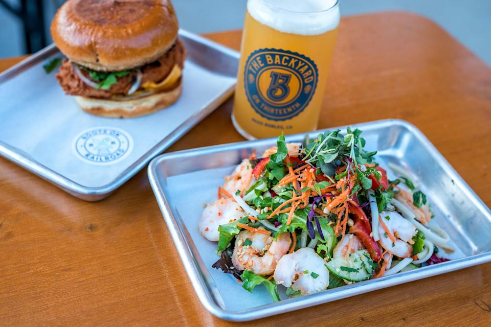 Grab a beer at the chilled out and dog friendly Backyard on Thirteenth.