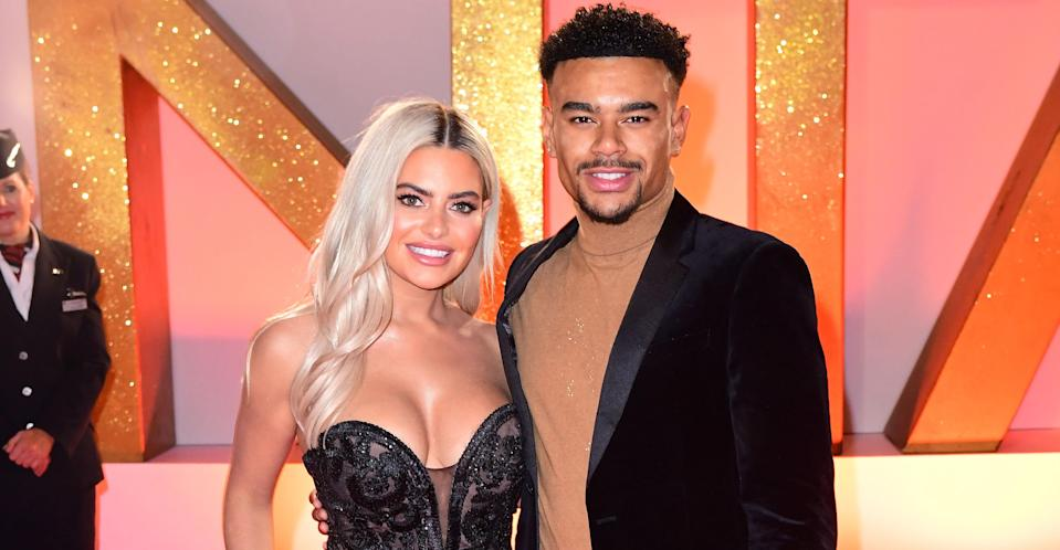 The Love Island couple have broken up after six months together. (PA Images)