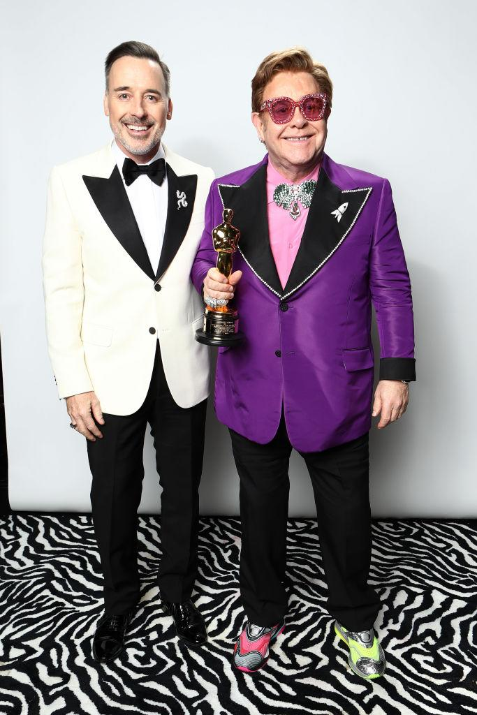David Furnish and Elton John married in 2014. (Photo: Rich Polk/Getty Images for IMDb)