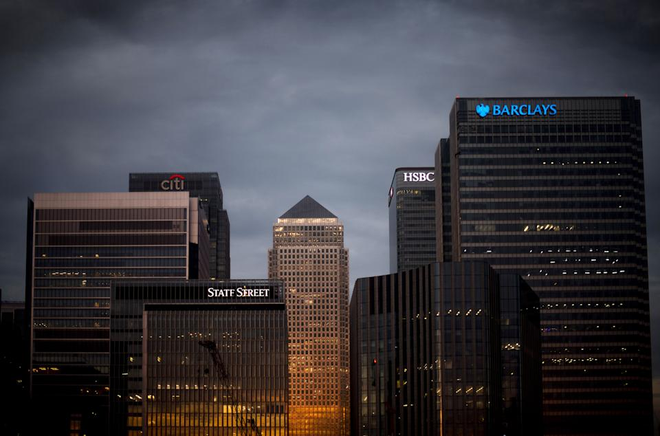 UK banking stocks plunged on Tuesday. Photo: PA