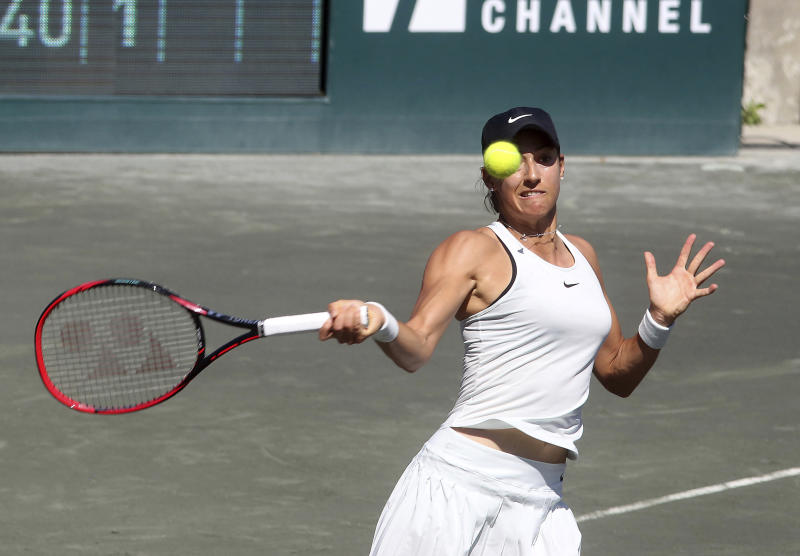 top-seeded garcia falls to cornet at volvo car open