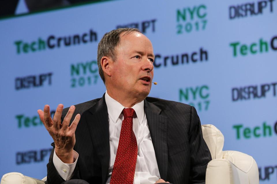 General Keith Alexander (IronNet Cybersecurity) at TechCrunch Disrupt NY 2017