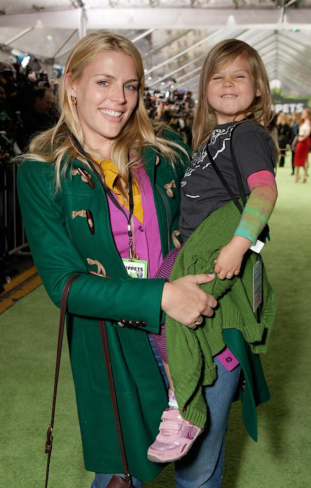 "<a href=""http://movies.yahoo.com/movie/contributor/1800355565"">Busy Phillips</a> at the Los Angeles premiere of <a href=""http://movies.yahoo.com/movie/1810188975/info"">The Muppets</a> on November 12, 2011."