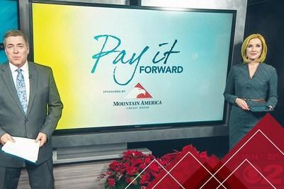 This marks the tenth year that Mountain America has partnered with Salt Lake City-based KUTV to spotlight those in the community who are making a positive impact in the lives of others with the Pay it Forward program.