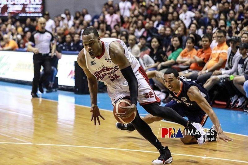 Ginebra trips Meralco to take 3-1 lead in PBA Governors' Cup finals