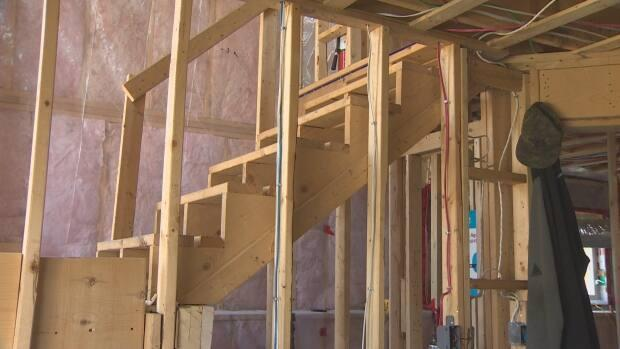 Habitat For Humanity Nova Scotia's latest project is a duplex in Spryfield. COVID has created complications for the organization.