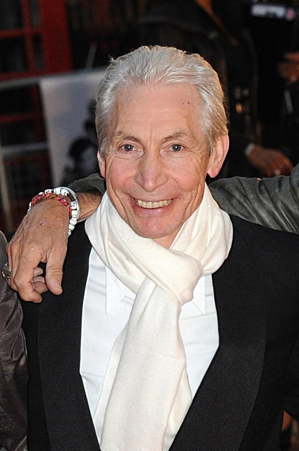 Charlie Watts has died aged 80, bringing an end to one of the great rock and roll careers (Joel Ryan/PA) (PA Archive)