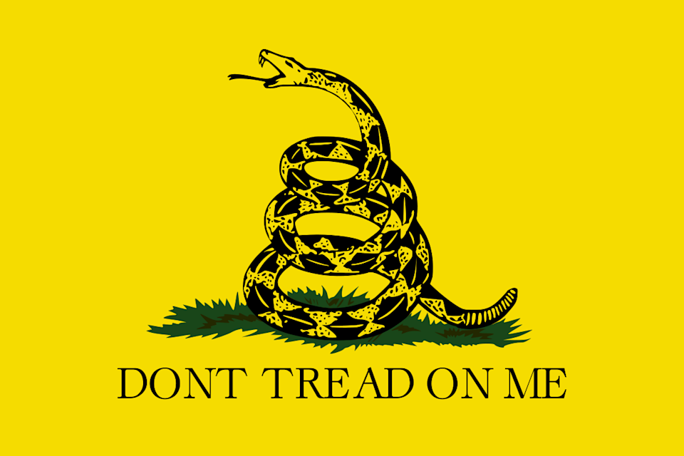 Gadsden Flag came to prominence during the Revolutionary War