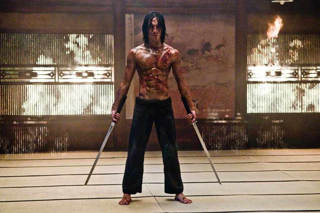 """<a href=""""http://movies.yahoo.com/movie/contributor/1802138259"""">Rain</a> in Warner Bros. Pictures' <a href=""""http://movies.yahoo.com/movie/1810030348/info"""">Ninja Assassin</a> - 2009"""