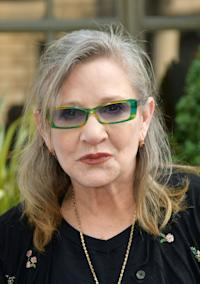 Video Available Mandatory Credit: Photo by Nils Jorgensen/REX/Shutterstock (5717522am) Carrie Fisher 'Stop Yulin' Campaign, Embassy of China, London, Britain - 07 Jun 2016 Celebrities attend photocall for the #StopYulin campaign, which culminates in the delivery of a petition to the Chinese government to end the Yulin Festival, which sees thousands of animals slaughtered.
