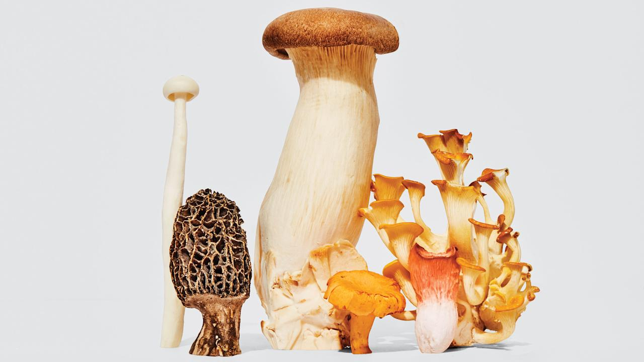 The first, and most important, mushroom rule! Unless you're with an experienced mushroom professional, don't pluck mushrooms willy-nilly from the wild. (We all know how that story ends.) At the market or the store, look for healthy 'shrooms: They should be firm and plump, with no signs of wrinkles or slime.