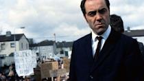 """<p>The events of 1972's """"Bloody Sunday"""" shootings in Derry, Ireland are dramatized by Paul Greengrass, director of other in-the-moment, news-based dramas like <em>United 93</em> and <em>Captain Phillips</em>. </p><p><a class=""""link rapid-noclick-resp"""" href=""""https://www.amazon.com/Bloody-Sunday-James-Nesbitt/dp/B000JGD24G?tag=syn-yahoo-20&ascsubtag=%5Bartid%7C10055.g.26252481%5Bsrc%7Cyahoo-us"""" rel=""""nofollow noopener"""" target=""""_blank"""" data-ylk=""""slk:AMAZON"""">AMAZON</a> <a class=""""link rapid-noclick-resp"""" href=""""https://go.redirectingat.com?id=74968X1596630&url=https%3A%2F%2Fitunes.apple.com%2Fus%2Fmovie%2Fbloody-sunday%2Fid270477758&sref=https%3A%2F%2Fwww.goodhousekeeping.com%2Flife%2Fentertainment%2Fg26252481%2Fbest-irish-movies%2F"""" rel=""""nofollow noopener"""" target=""""_blank"""" data-ylk=""""slk:ITUNES"""">ITUNES</a></p>"""